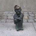 写真: ポーランド ヴロツワフ 旧市街 妖精の像1