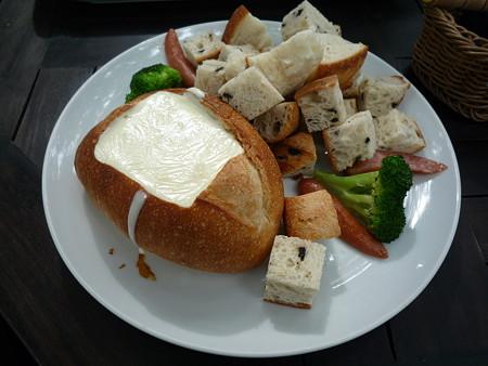 ペニーレーンのチーズフォンデュ