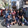 Photos: 一昨日の春日神社のお祭りで...