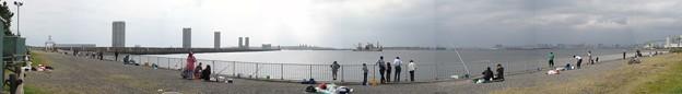 若洲海浜公園 海釣り施設埠頭