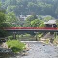 筏橋見た中橋・・・