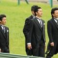 Photos: [140420中山11R皐月賞]松岡さん隠れちゃいました
