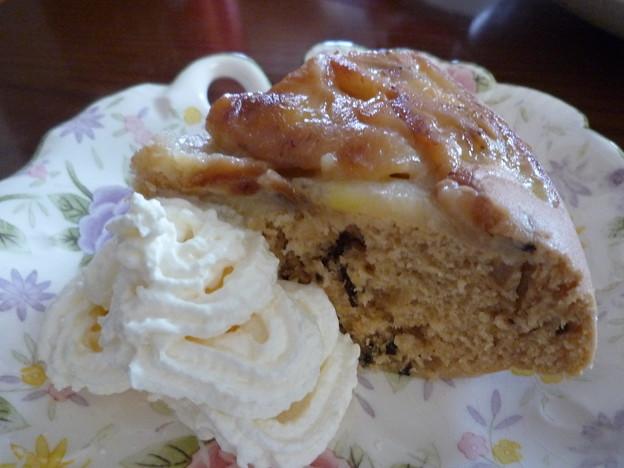紅茶のバナナケーキ