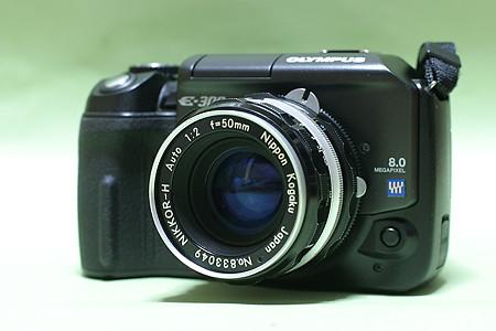 オリンパスE-300/ニッコールHオート50mm F2