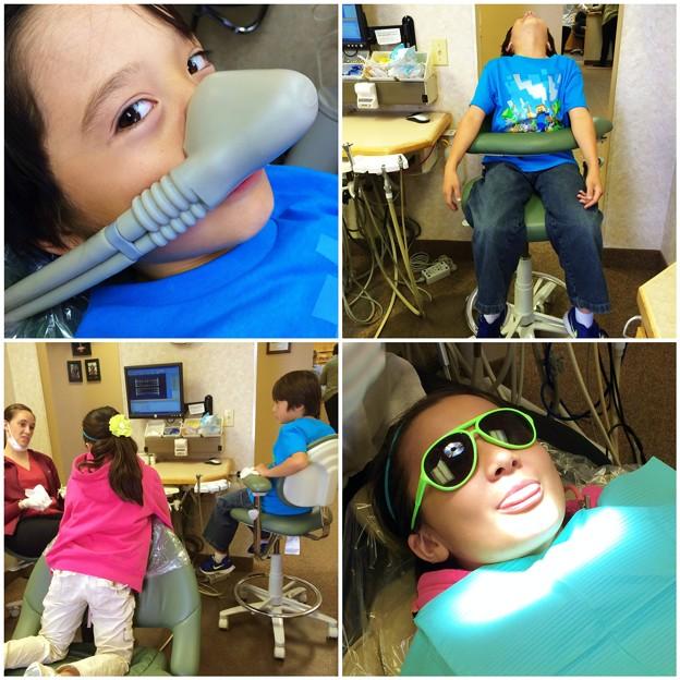 Having Fun at Dentist(^O^☆♪