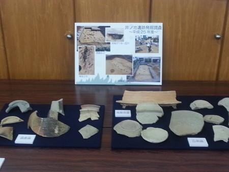 20140525 12.05 古井町ふれあいひろば - 2013年度井ノ池遺跡発掘調査