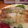 写真: がす海老の刺身