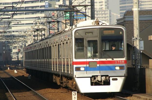 京成3700形のLED車