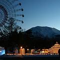 001 浅間高原ウィンターフェスティバル夕方イメージ