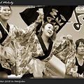写真: チーム法政_スーパーよさこい2008_03