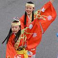 写真: 原宿よさこい連_東京大マラソン祭り2008_31