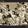 写真: 絆~kizna~_東京大マラソン祭り2008_sepia
