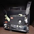 写真: 8mm映写機
