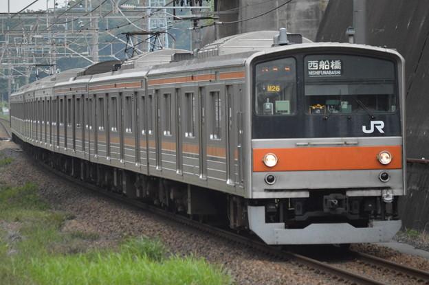 武蔵野線205系