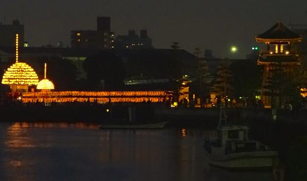堀川まつり 2014 No - 174:七里の渡しと「まきわら船」の曳き廻し
