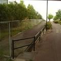 写真: 不可解な歩道の封鎖_城山2