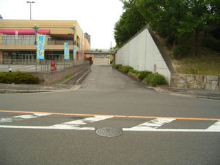 ピエスタ駐車場出入り口の位置を変える案_城山1