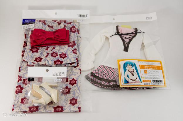 Photos: 2014年6月新作ドレス発表会購入品1