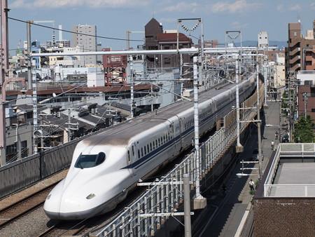 N700系 のぞみ 東海道本線京都~新大阪01