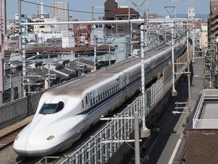 N700系 のぞみ 東海道本線京都~新大阪02