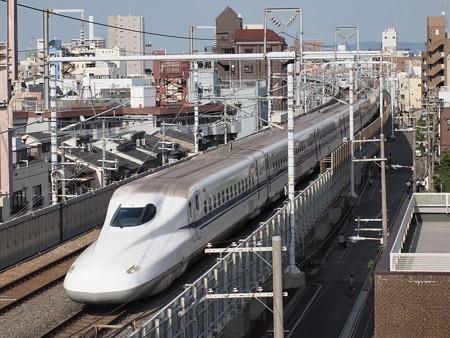 N700系 のぞみ 東海道本線京都~新大阪07