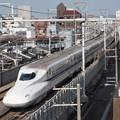 写真: N700系 のぞみ 東海道本線京都~新大阪07
