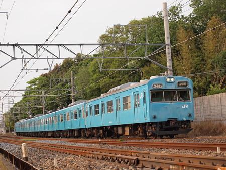 103系普通 阪和線杉本町~浅香03