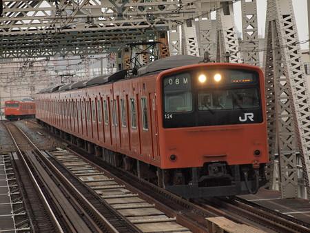 201系普通 大阪環状線大正駅01