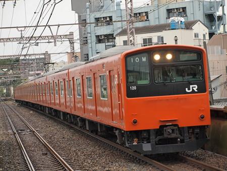 201系普通 大阪環状線大正駅04