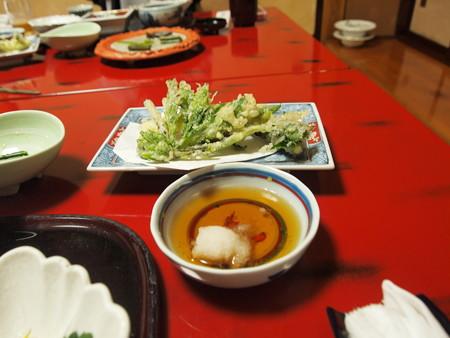 山菜と月山筍の天麩羅