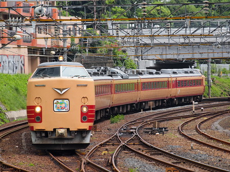 485系仙山線さくらんぼ号回送 東北本線仙台総合車両センター~仙台01