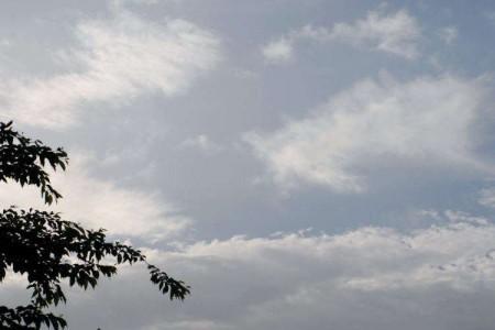 雨あがりの空