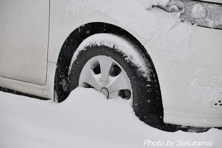 雪道タイヤ