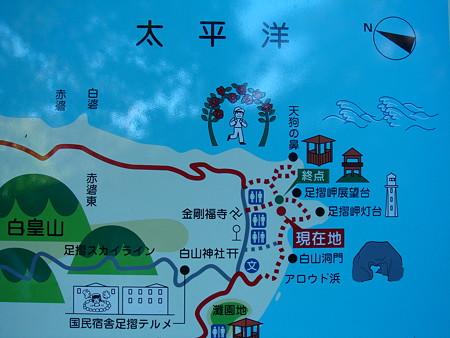 地図@足摺岬