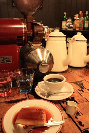 プリンセットとコーヒーミルたち@ミルクホール