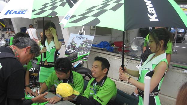 Photos: 71 2013 87 柳川 明 TEAM GREEN ZX-10R  IMG_2107