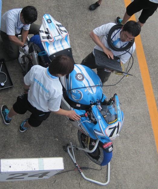 写真: 08 2013 71 加賀山 就臣 Team KAGAYAMA GSX-R1000 IMG_1184