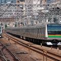 Photos: E233系併走