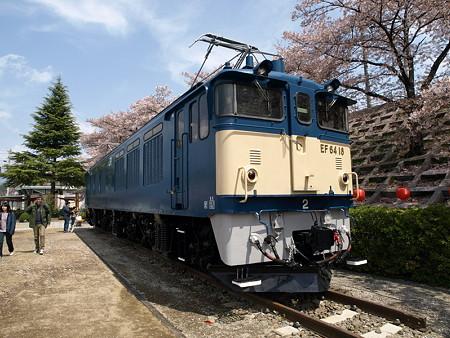 EF64-18(勝沼ぶどう郷駅前甚六公園)