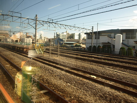 新前橋駅直前