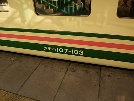クモハ107-103(高崎駅)