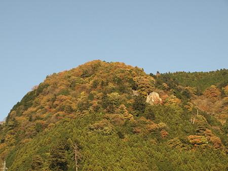 奥多摩駅近くの山
