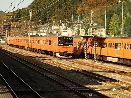 201系青梅線(青梅駅)