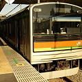 205系川越線(拝島駅)