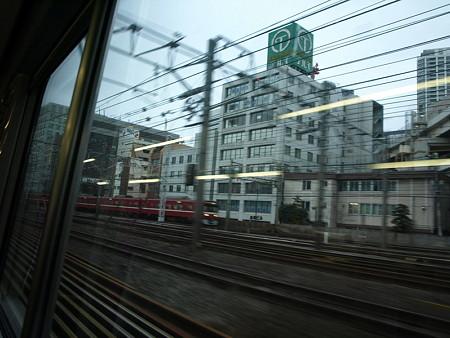 湘南新宿ライングリーン車1階の車窓