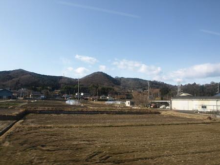吾妻線の車窓(渋川→金島)