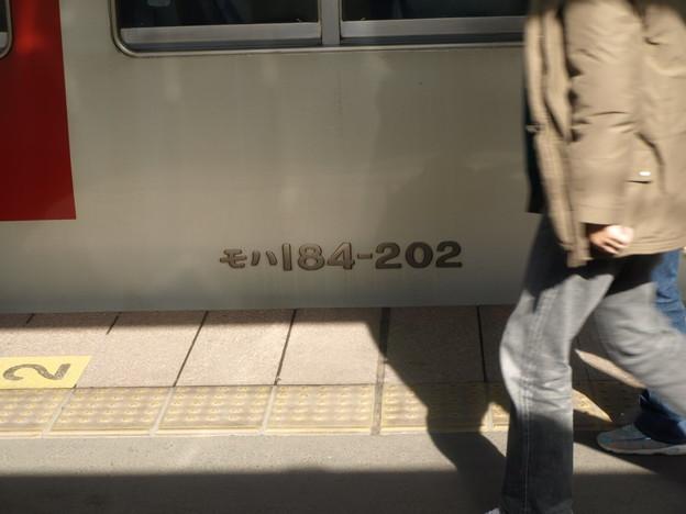 写真: 185系(長野原草津口駅)