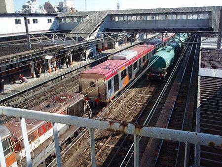 DE10+東急6300系+タキ10000(八王子駅)