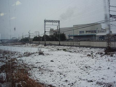 JRと近鉄の併走区間(松阪駅付近)