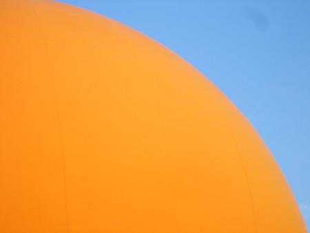 青とオレンジ